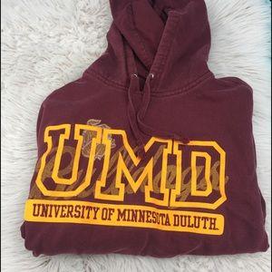 University of Minnesota hoodie sweatshirt